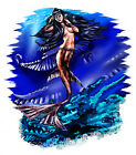 Lost City Mermaid Siren Design T-Shirt, fs20016