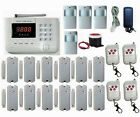 101 Zones GSM/PSTN/SMS/Call Voice Smart Wireless Home Alarm Security System L412