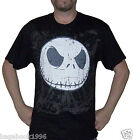 NBX Men's Nightmare Before Christmas Jack Face T-shirt  (NBX1)