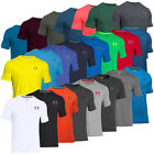 UNDER ARMOUR CHARGED COTTON SPORTY LEFT CHEST LOGO T-SHIRT MEN'S SPORTS T-SHIRT