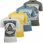 Mens T-Shirt by Firetrap 'Slaidburn' Short Sleeved