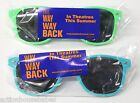 The WAY WAY BACK - Movie PROMO Sunglasses - Steve Carrell - AQUA -TEAL or GREEN