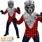 Hungry Howler Werewolf Boys Fancy Dress Halloween Kids Boys Childs Costume New