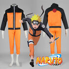 Naruto Shippuden Uzumaki Costume Jacket+Pant Complete Set for Halloween Cosplay