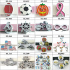 5PC 8mm slide charms  for 8mm  bracelet /pet collar/wristbands