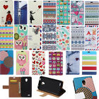 wallet Card Holder Leather Case Stand Skin Cover for Alcatel Wiko Phone JLN