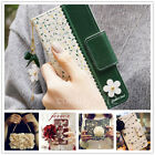 Luxury Flip Leather Magnetic Wallet Card Case Cover For Samsung Galaxy iPhone