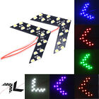 14 SMD 66 SMD Arrow Panel Indicator LED Light Auto Side Mirror Turn Signal Lamp