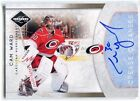 2011-12 Limited Crease Cleaners Signatures 2 Cam Ward Auto 11/99
