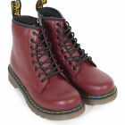 Dr. Martens Junior Smooth Leather Lace Up / Zip Boot Cherry Red Softy