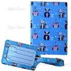 Passport Holder & Luggage Tag, Travel Cover, Suitcase Label For Holiday Flights