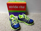 NEW STRIDE RITE BOYS PROPEL Lace Up Athletic SHOES Sneakers Size 8.5 Medium
