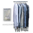 "20 Clear Polythene Clothes Covers Garment Storage Protector Bags 38"" Hangerworld"
