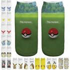 Pokemon Go Cartoon Socks Pikachu Women Girl Kids Flexible team valor wiz Socks