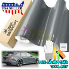 *3D Carbon Fiber Texture Matte Gray Vinyl Car Wrap Sticker Decal Film Sheet DIY