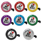 1 pc New Ultra Sound Mountain Bike Bicycle Bells Vintage Bells Plastic 8 Colors