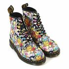 Dr Martens Women's Adventure Time Castel Toon Leather Boot White
