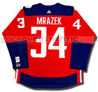PETR MRAZEK TEAM CZECH REPUBLIC PREMIER JERSEY ADIDAS 2016 WORLD CUP OF HOCKEY
