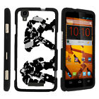 For ZTE Max Boost N9520 Case Hard Snap On 2 Piece Slim Shell Comics