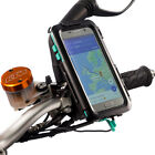 Motorcycle Mirror M8-M10 Stem Bike Mount + Waterproof Case For Samsung Galaxy S7
