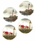Ceramic Decals Light House Lighthouse 2 Designs Seaside Meadow Red Roof Water image