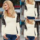 Women Casual Long Sleeve Knitted Pullover Loose Sweater Jumper Tops Knitwear