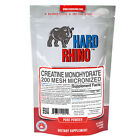 Creatine Monohydrate Micronized Powder Hard Rhino Supplements