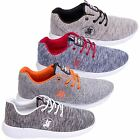 Santa Monica Polo Club Mens Sports Trainers Running Gym Casual Shoes Sizes 7-12