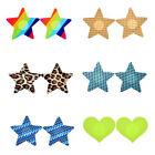 1Pair Women Colorful Nipple Cover Breast Sticker Pasties Bra One-off Convenient
