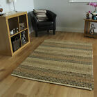 Non Slip Hard Wearing Natural Seagrass Rugs Stain Resistant Stylish Carpet Mats