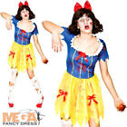 Zombie Snow White Ladies Fancy Dress Halloween Fairytale Horror Adults Costume