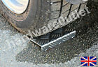 Trailer Caravan Wheel Chocks 3 mm No Rot Chequer Plate 4x4 Quad Bike Horse Box