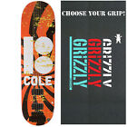 """PLAN B Skateboard Deck COLE HIPNOSIS 8.5"""" with GRIZZLY GRIPTAPE"""