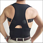 Adjustable Posture Corrector Back Support Shoulder Back Brace Belt Men/ Women