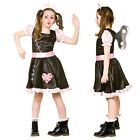 NEW Wind Up Doll - Girls Halloween Childrens Fancy Dress Costume