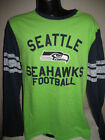 NFL Seattle Seahawks Football Ls Hashmark T Shirt Mens Size Nwt $16.24 USD on eBay