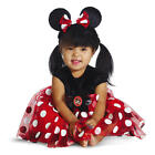 Disney Girls Red & White Polka Dot Minnie Mouse Halloween Costume with Shoe