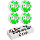 BONES Skateboard Wheels 100's White with INDEPENDENT ABEC 5 Bearings