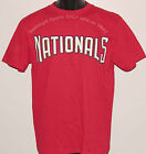 CHILD'S Washington NATIONALS T-Shirt MAJESTIC 100% Cotton YOUTH Sizes S,M,L NWOT