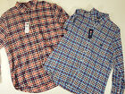 mens shirts chaps casual long sleeve button  accessory pocket 100% cotton