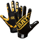 Battle Sports Science Receivers Ultra-Stick Football Gloves - Gold/Black for sale  Shipping to Nigeria