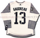 JOHNNY GAUDREAU TEAM NORTH AMERICA JERSEY WHITE ADIDAS 2016 WORLD CUP OF HOCKEY
