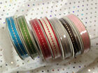 CENTRE STITCH Three Kings Grosgrain ribbon - 10mm - 7 SHADES - 4m reel SEE OFFER