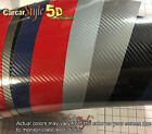 5D Gloss Ultra Shining【ALL COLOUR】Carbon Fibre Vinyl Wrap Sticker 1.52m x 1m 2m