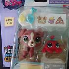 Littlest Pet Shop NEW in the city Calla Boxton dog Blossom Clawson crab 129 130