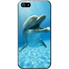 Dolphins Hard Case For iPhone SE