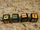 Juarssic Park III 3 Board Game Relacement Parts/Pieces *4 Dice*