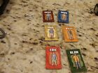 Juarssic Park III 3 Board Game Relacement Parts/Pieces *Character Pieces 6*