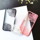 Lace Flower Soft Transparent TPU Back Case Cover For Apple iPhone 7 & 7 Plus