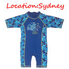 AU Kids Boys UV 50+ Sun Protection Swimsuit One-Pice Surf Swimming Costume 3-10Y
